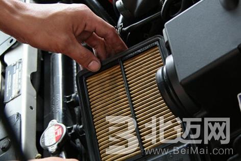 汽车空气过滤器的保养误区