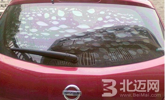 汽车贴膜后有气泡