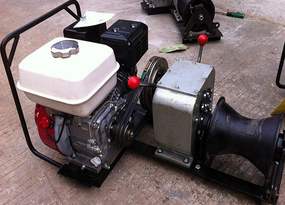 Engine Powered Winch