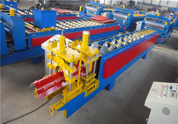 Round Ridge Cap Roll Forming Machine