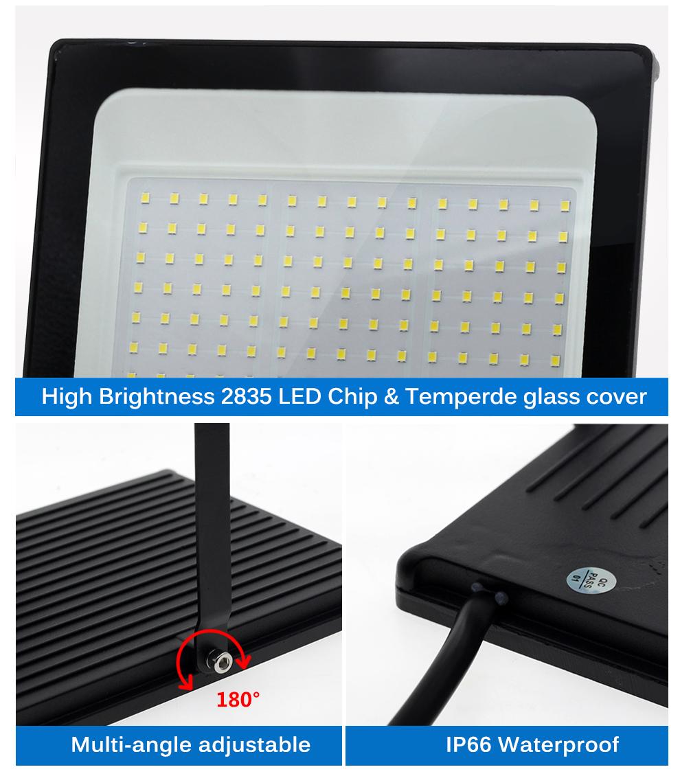 LED Flutlicht 220V 9