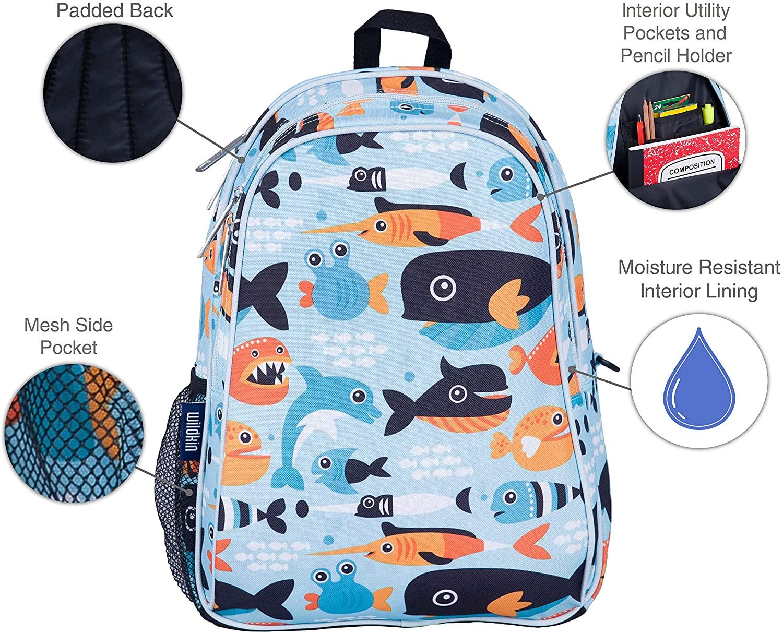 Cute cartoon kids backpack school bag