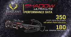 TenPoint Shadow Ultra-Lite Crossbow