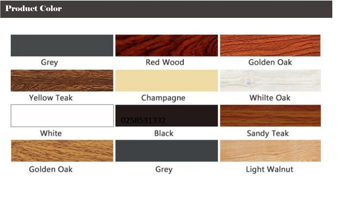 Wood Grain Aluminum Doors