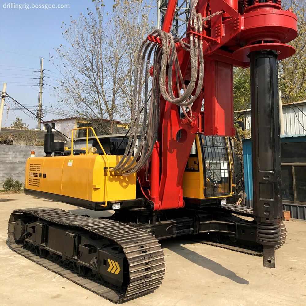 50M Depth Pile Drilling Machine