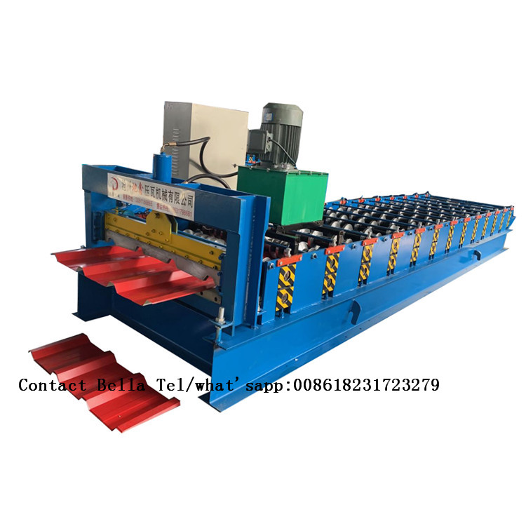 Used Trapezoidal sheet roll forming machine