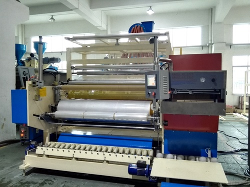 1500mm Fully Automatic Co-Extrusion Film Stretch Plant