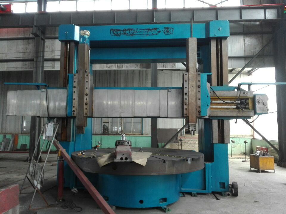 Double column vertical lathe in stock
