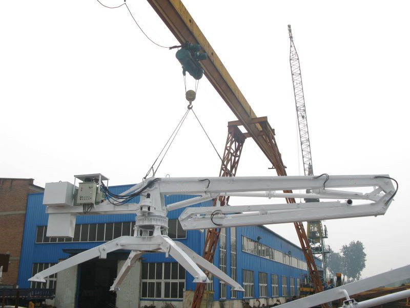concrete boom pump/boom placer/krate placer