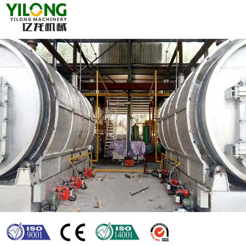 Tyre Pyrolysis Machine-Yilong Machinery