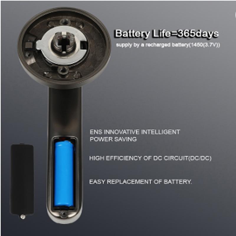 Fechadura de porta com impressão digital de senha de segurança inteligente de alta qualidade