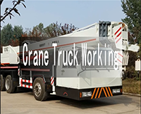 10t lifting truck crane, cranes on truck, construction truck crane