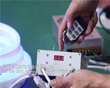 DMX Control Instruction for LED Neon Tube