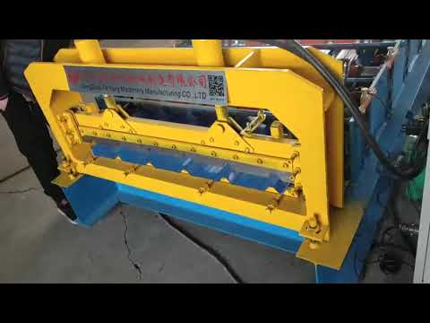 Designing roofing machine