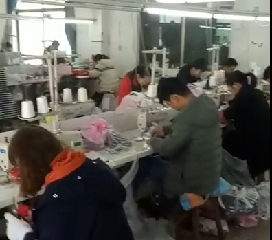 Baby shoes workshop