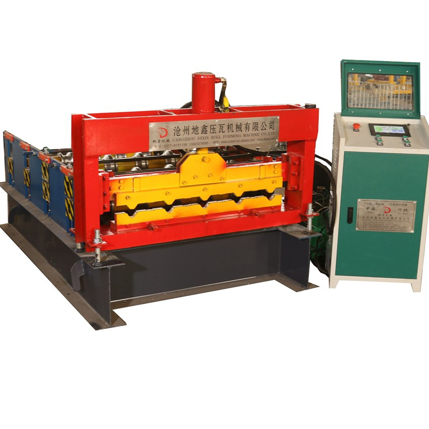 Curving machine for steel profile