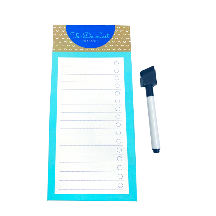 Magnetic Erasable Markers Note Pad