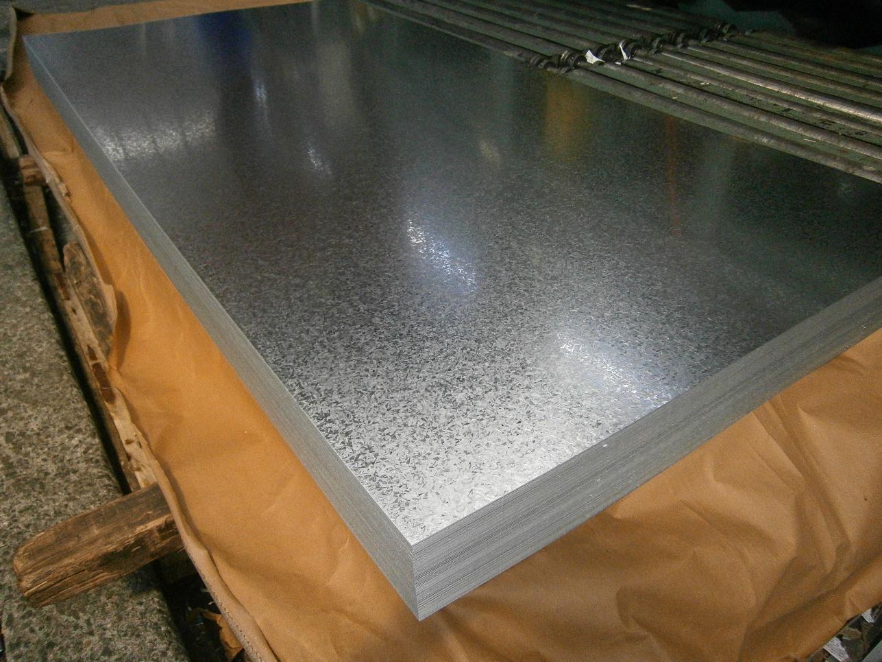 Hot Dipped Galvanized steel plain sheet
