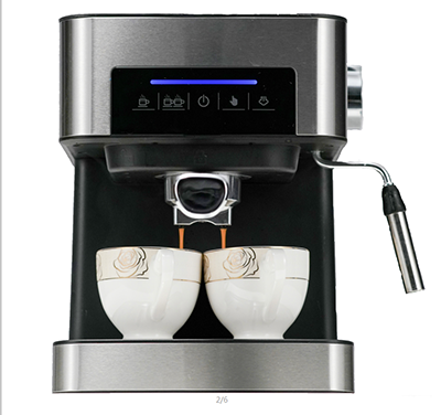 Espresso coffee Machine with Touch control panel