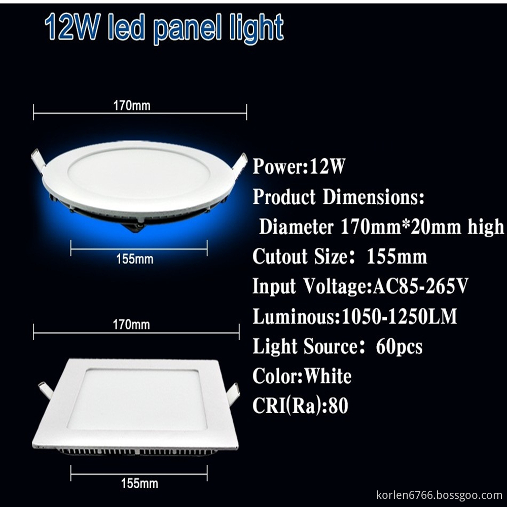 LED Light Series with ROHS Certificate