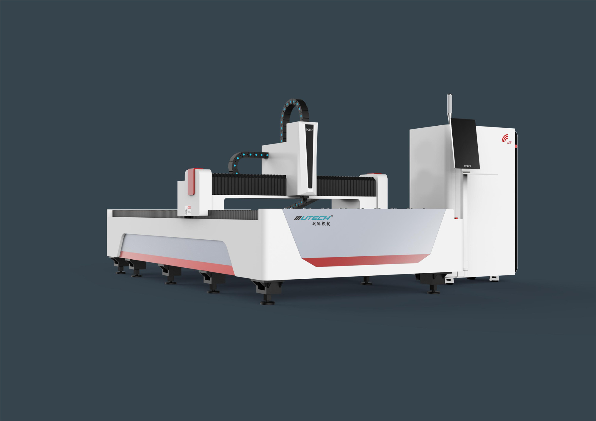 How does Fiber laser cutting machine work?