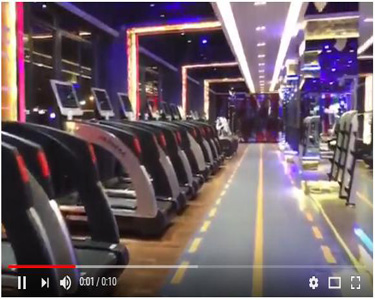 Luxury gym equipment--GANAS