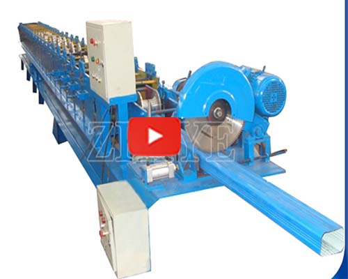 Downspout Sawing Cutting Machine