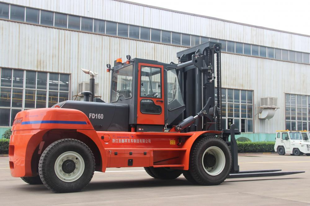 China Goodsense forklift factory 16ton diesel forklift for China Eastern Airline