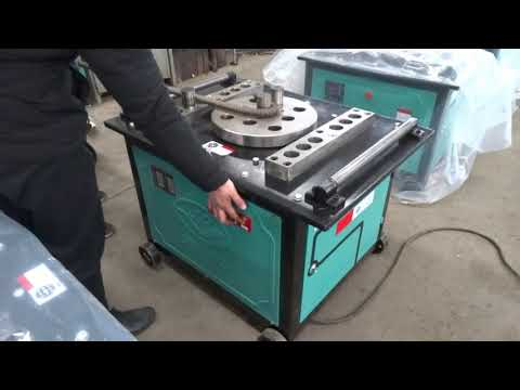 GW40/50 Series rebar bending machine operation video