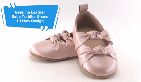 New Arrival ~~Genuine Leather Soft Sole Toddler Shoes