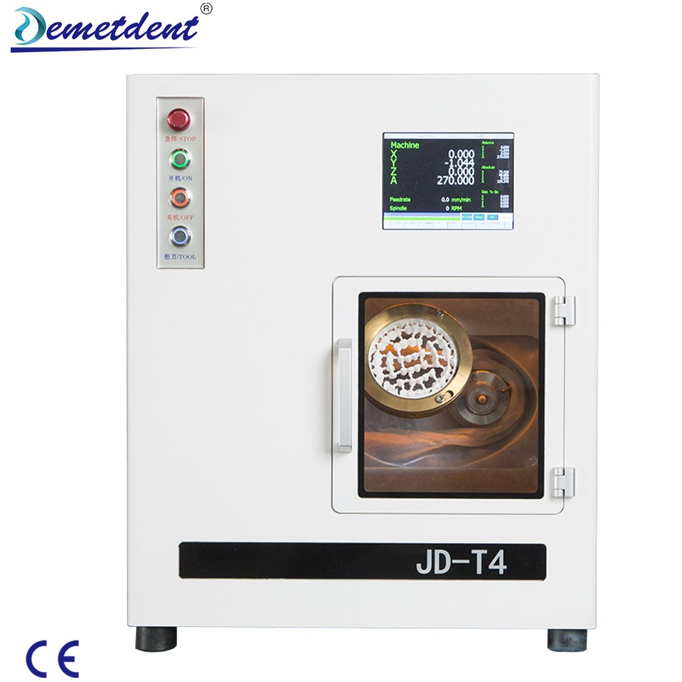 JD-T4 Zirconia Dental CAD CAM Milling Machine