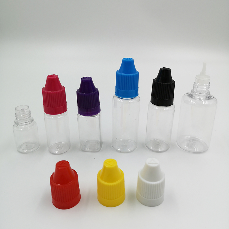 15ml PET COLOR E liquid Dropper Bottles