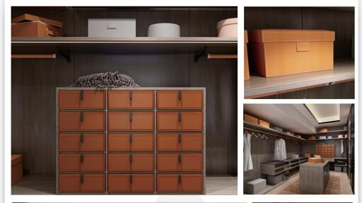 New Products of Drawer Divider with Leather Finishing