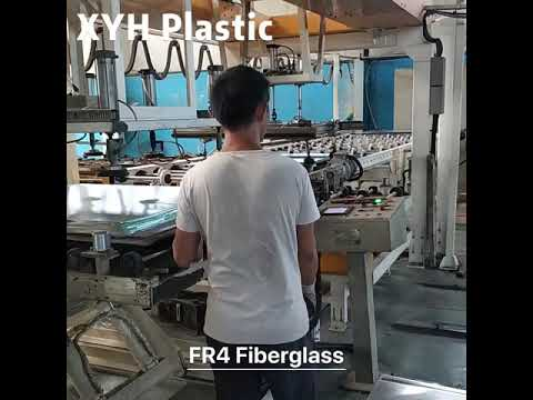 Epoxy fiberglass sheet production process