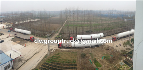 200CBM ASME LPG Tank Truck Had Finished And Delivery to NIGERIA