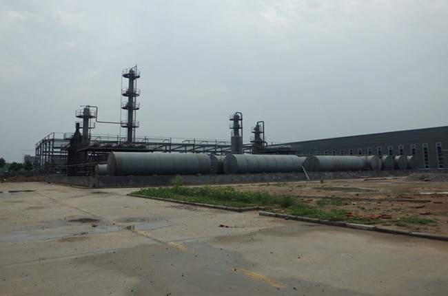 continuous distillation plant