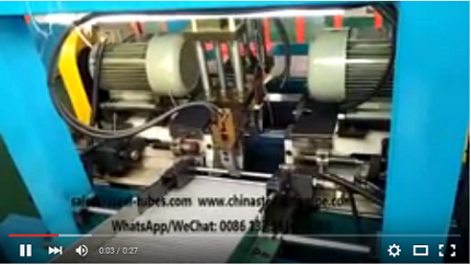 Automatci cutting and chamfering