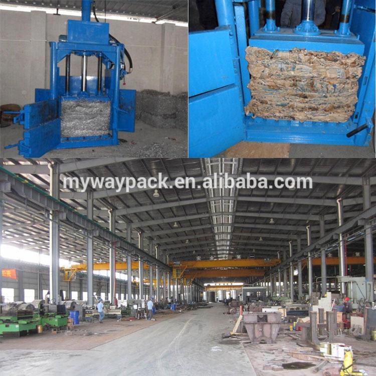 Vertical Plastic Baling Machine