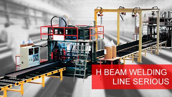 H Beam Welding Machin