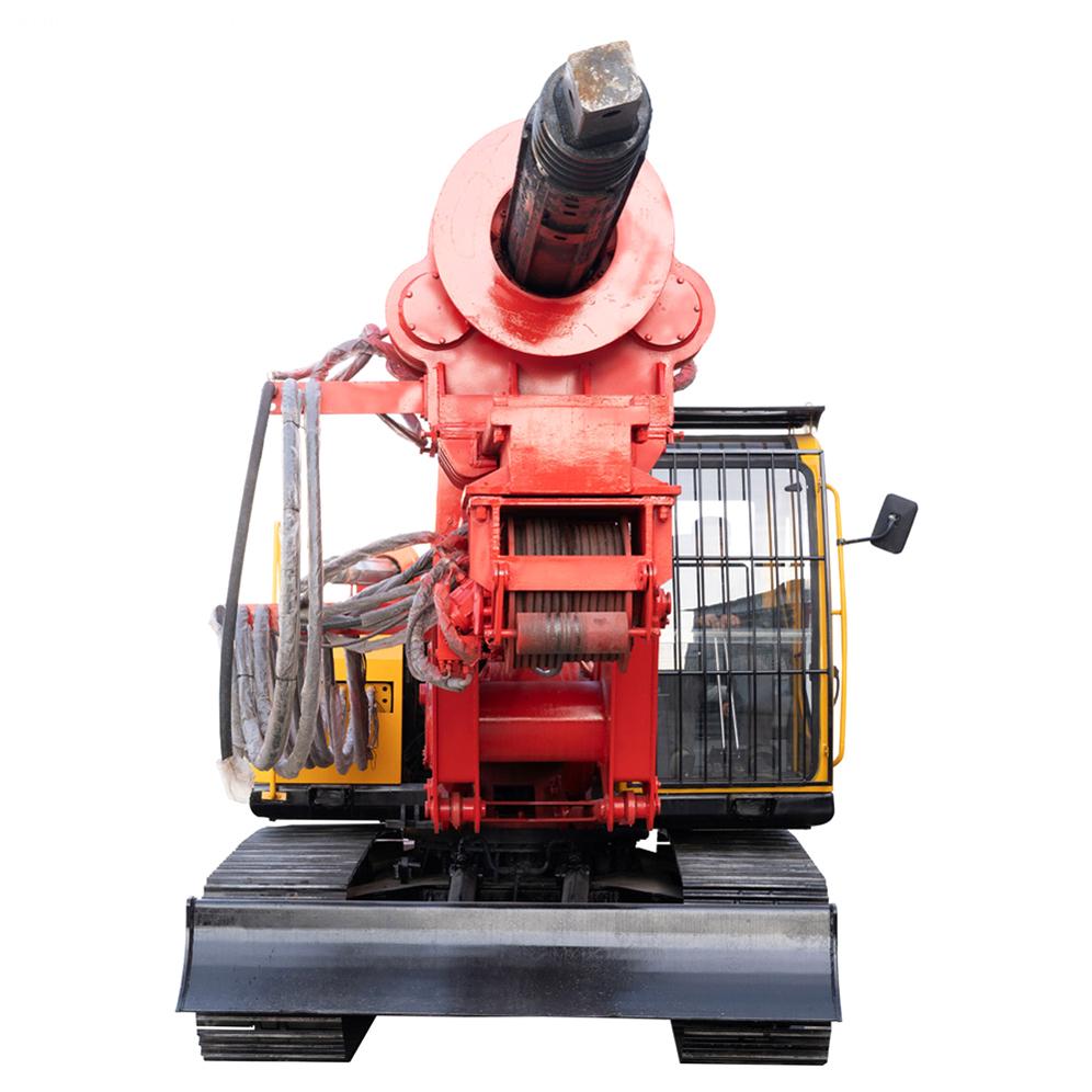 Machine Lock Rod Drilling Rig