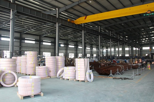 Storage of raw materials warehouse