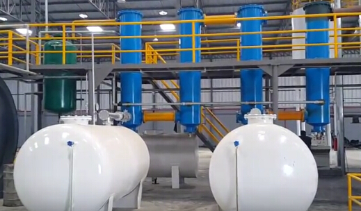 Batch Pyrolysis System Working in Ecuador--Jinpeng Industrial