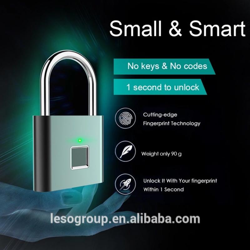 Cadeado inteligente para portas de segurança