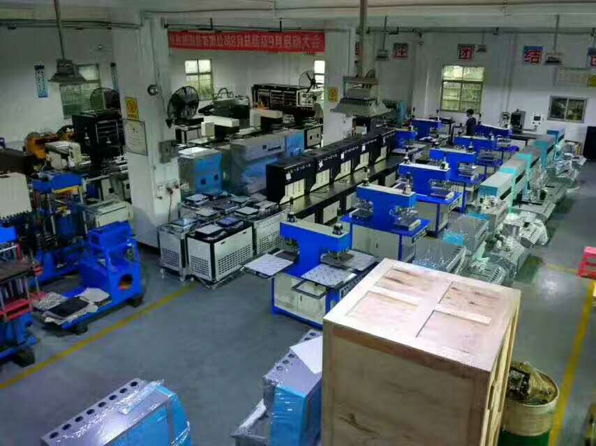 customer's factory, for making silicone products