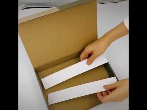 corrugated kraft paper carton box