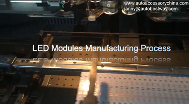 LED Modules Manufacturing Process