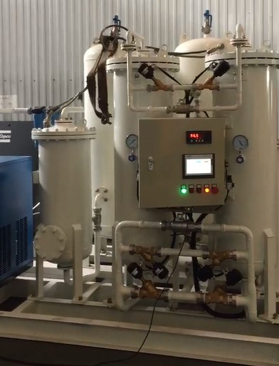Gamma Gas nitrogen generator video
