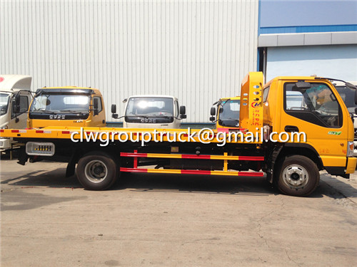CLW GROUP TRUCK Road Wrecker Truck
