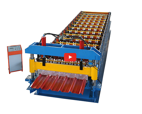1100  Wall And Roof Roll Forming Machine