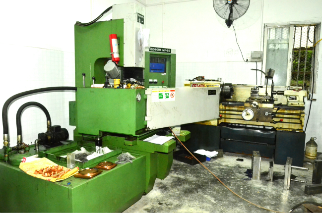 Injection molding machine 1